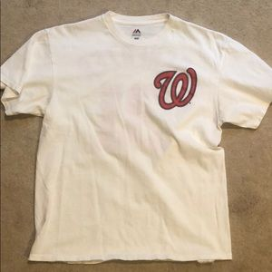 Max Scherzer Washington Nationals Majestic T-Shirt